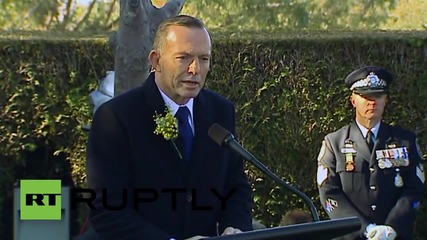 Australia: PM Abbott honours Australian MH17 victims on anniversary of crash