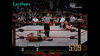 Tna Final Resolution 2007 *iron Man* Kurt Angle Срещу Samoa Joe част 2