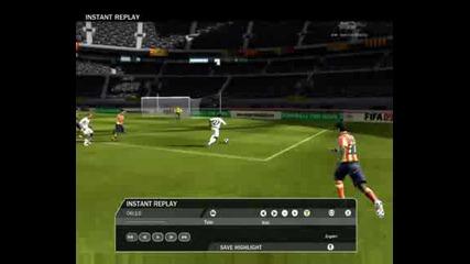Страхотен гол с петичка на Fifa 2009