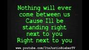 Chris Brown ft. Justin Bieber - Next 2 You (lyrics)