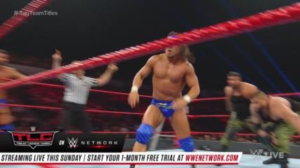Bobby Roode & Chad Gable vs. AOP & Drake Maverick - Raw Tag Team Championship 2-on-3 Handicap Match: Raw, Dec. 10, 2018