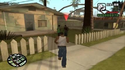 Gta San Andreas: Епизод 2 - Графити, грешки, бой и дилъри на дрога