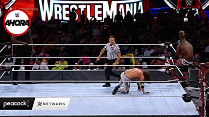 WrestleMania 37 Noche 1 (RESULTADOS): WWE Ahora, Abr 11, 2021