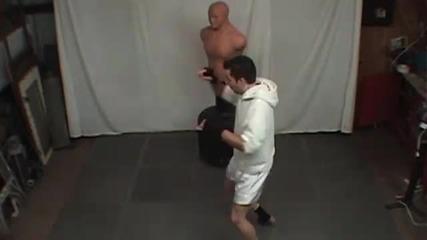 Удари и техники от taekwondo Kickboxing