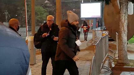 Алън Пардю пристига в компанията на Дани Ганчев