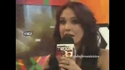 Dulce Maria en Entrevista habla de Extranjera Exa Fm