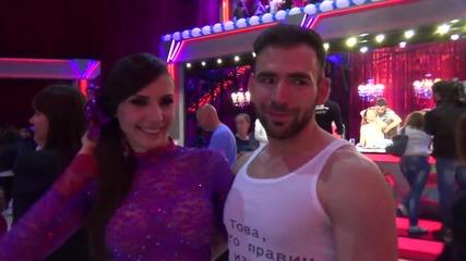 Dancing Stars - Нели и Наско за участието си в Dancing stars (29.05.2014)