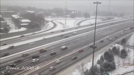 Ето как почистват снега в Канада