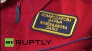 "Russia: Training for all-female ""Moon-2015"" mission held in Moscow"