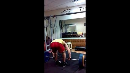 Трениране - Мъртва тяга за 180 kг - Fit Camp