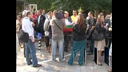 Протести срещу наредба за паркиране в София