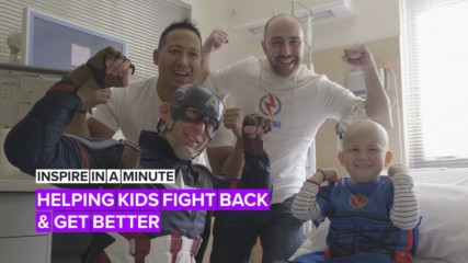 Inspire in a Minute: Helping kids fight back & get better