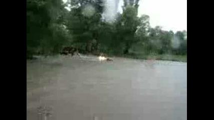S atv v reka