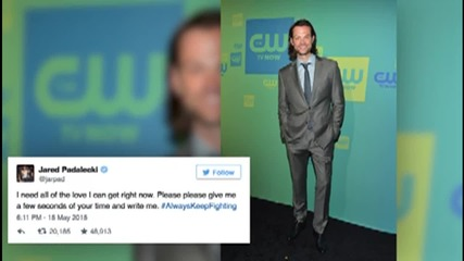 Fans at ComicCon Show Support for Jared Padalecki Who's Battling Depression