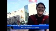 В Пловдив - Масов бой с възглавници
