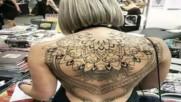 Дамски Татуси за Гръб,татуировки за гръб за Жени balnirokli.com