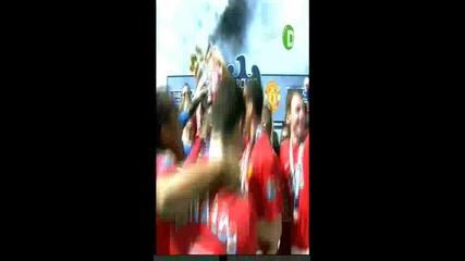 Manchester United шампион на Англия