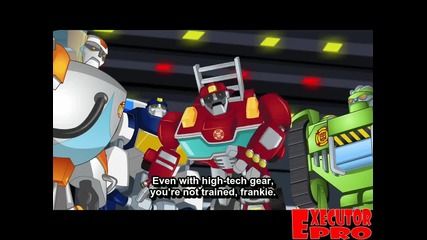 Transformers Rescue Bots - Season 02 Episode 22 - The Griffin Rock Express - 720p - Hd