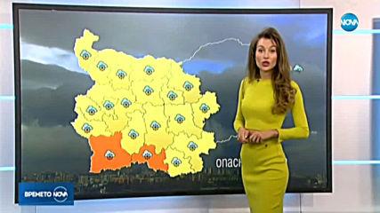 Прогноза за времето (31.03.2020 - централна емисия)