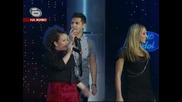 Дmusic Idol 3 Дарко,  Ели и Симона - One