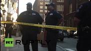 USA: Police rush to Manhattan federal building shooting
