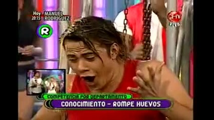 14.04.2010 Reality Show In Chile Yingo с участието на Evailo