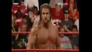Трите Хикса се завръща и спуква от бой Ренди Ортън!!!