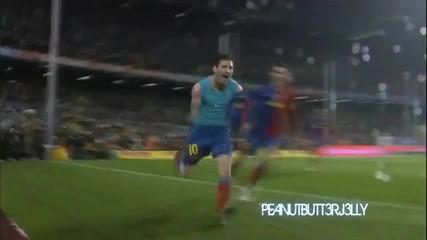 Lionel Messi 2009 - 2011