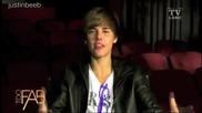 Justin Bieber пее Happy Birthday на Betty White ;dd