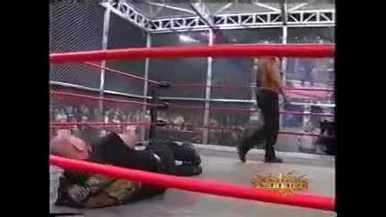 Goldberg vs Scott Steiner- Caged Heat Match (wcw Nitro 2000)