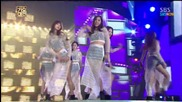Ze:a & 9muses - The Ghost Of Wind + Glue + Bounce @ Sbs Gayo Daejun 2013