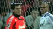 Алберто Акуилани пробва ударите си срещу Реал мадрид (да... много е добър)