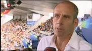 Олимпийски Тенис Турнир : Посрещането На Ф