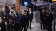 Germany: Obama and Merkel geek out at Hannover Messe