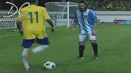 Neymar da silva football skills 2011