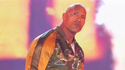 The Rock electrifies at the MTV Movie & TV Awards