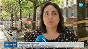 """Напрежение сред гражданите заради отсечени дървета на площад """"Славейков"""""""
