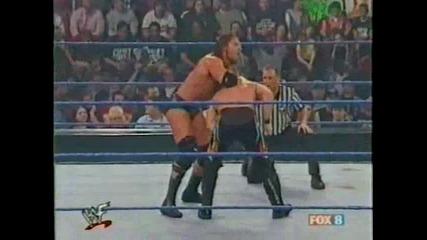 Крис Джерико срещу Трите Хикса [ Интерконтиненталната титла ]