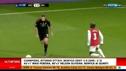 Арсенал - Милан 3:0