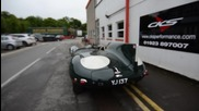 Jaguar D Type Replica Cks Exhaust