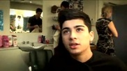 Zain gets groomed - One Direction - The X Factor