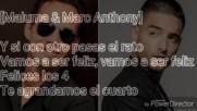 Felices Los 4 Con Letra Maluma Ft. Marc Anthony Version Salsa
