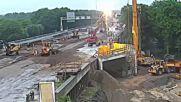 Вижте как в Холандия за 2 почивни дни се строи тунел под пътя! Ето как се работи!