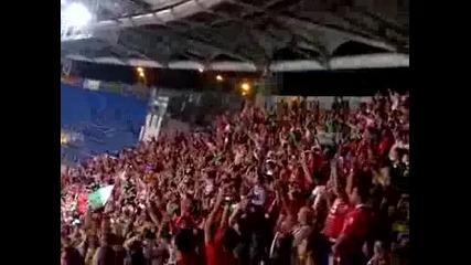 Рома - Цска - Да запеем дружно песента !!!