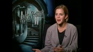 Emma Watson - интервю Harry Potter And The Half Blood Prince част 2