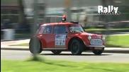 Very fast rally Mini Cooper-amsterdam Rallysprint 2010