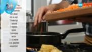 Талитатели със зеленчуци и скариди - Бон Апети (14.12.2016)