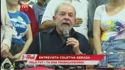 Brazil: Ex-leader Lula speaks out following arrest in Sao Paulo