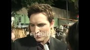 Peter Facinelli: The Cast is Great - at the Twilight Saga New Moon Premiere