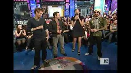 Nick, Howie & Aj Bsb At Trl [20 - 10 - 2008]